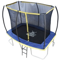 Zero Gravity Ultima 5 10ft x 7ft Rectangular Trampoline and Enclosure