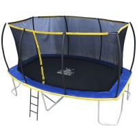 Zero Gravity Ultima 5 15ft x 10ft Rectangular Trampoline and Enclosure