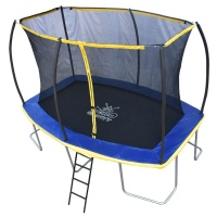 Zero Gravity Ultima 5 12ft x 8ft Rectangular Trampoline and Enclosure