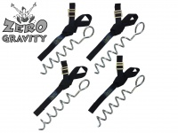 Zero Gravity Trampoline Tie Down Kit - Corkscrew Style